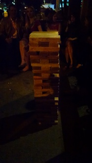 Giant Jenga. Because why not?