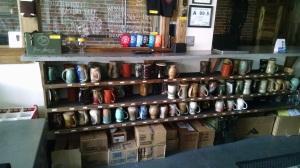 The mugs!