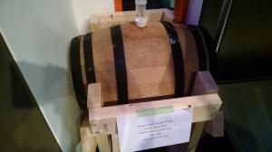The barrel from Copenhagen. It's a pretty great barrel.