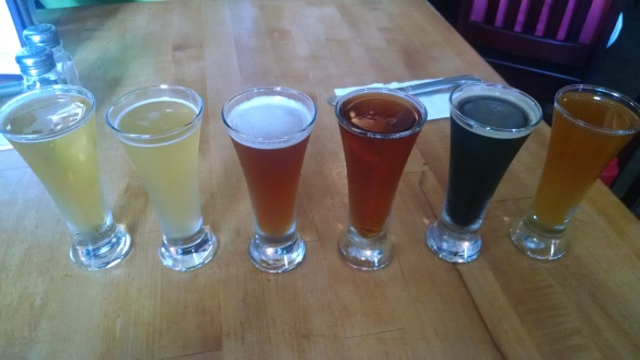 OBX brew flight