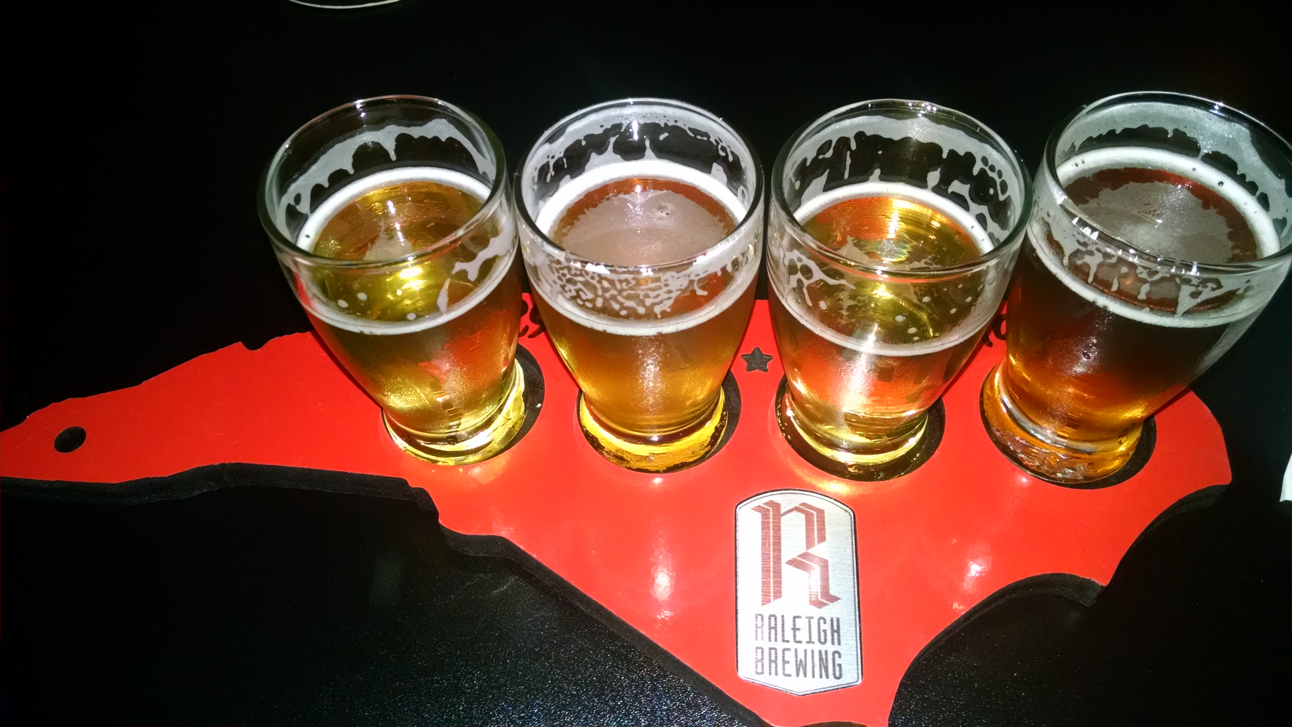 Painting the town RED- Raleigh Brewing Company- Raleigh