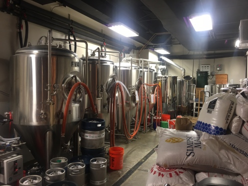 SP brewhouse